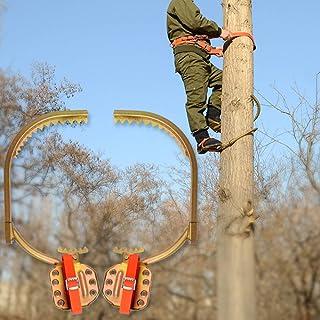 GBHJJ pol klätterspikar, klätterträd artefakt elektriker trästång fotspänne, elektriker fotspänne trästång järnskor, plock...