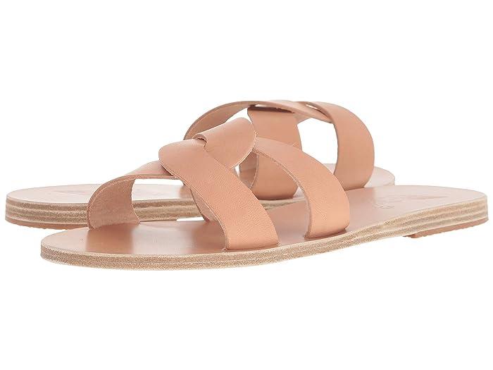 Ancient Greek Sandals  Desmos (Natural) Womens Sandals