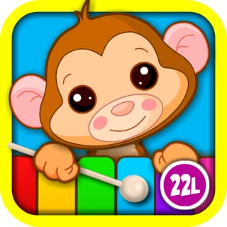Abby Monkey® Kids Musical Puzzle Interactive Learning Game: Play & Sing Songs (Old MacDonald, Bingo, Five Little Monkeys, Twinkle, Twinkle Little Star) and Learn Music with Toy Animal Piano for Baby, Toddler, Preschool, and Kindergarten Explorers