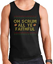 Rugby Christmas Oh Scrum All Ye Faithful Men's Vest