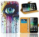 Huawei G Play Mini/Honor 4C Handy Tasche, FoneExpert® Wallet Hülle Flip Cover Hüllen Etui Ledertasche Lederhülle Premium Schutzhülle für Huawei G Play Mini/Honor 4C (Pattern 10)