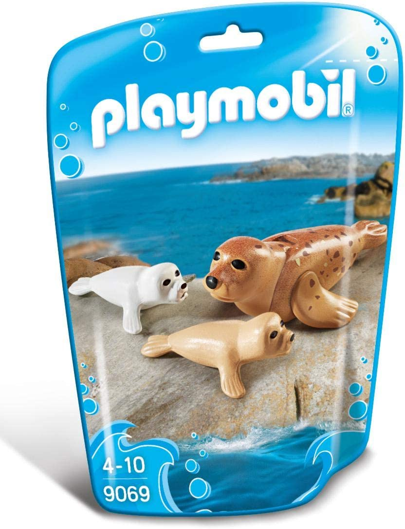 PLAYMOBIL 5 popular Seal Weekly update with Set Pups Building