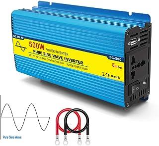Pleine Puissance Endurable 600watt 1000watt Pure Sinus Wave Convertisseur Dengofng 600W//1000W AC 12V//24V /à DC 220V Puissance Convertisseur Pure Sinus Wave Pratique Voiture Adaptateur