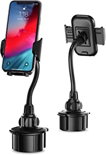 Kinhan Car Cup Holder Cell Phone Mount, [Upgraded] Cupount_XL Universal Cell Phone Holder for iPhone Xs/X/8/7/6s/6Plus,Galaxy/Note etc