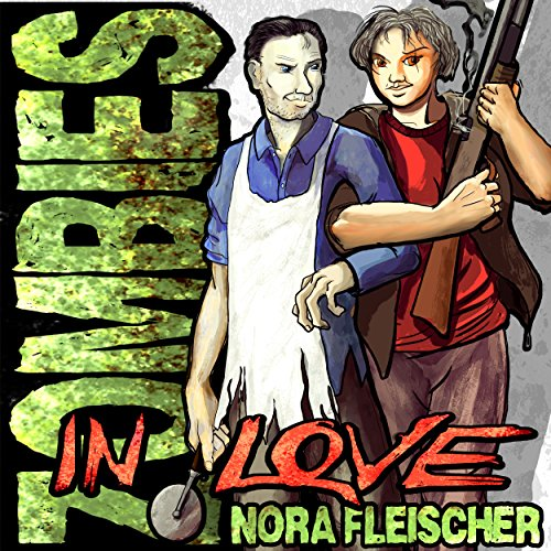 Zombies in Love audiobook cover art