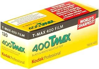 Kodak 400 TMAX Professional ISO 400, 120mm, Black and White Film