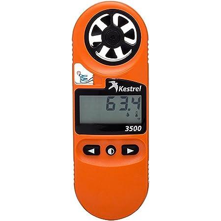 Kestrel 3500FW Fire Weather Meter Pro Digital Psychrometer Altimeter Anemometer, Blaze Orange (OB-KEST-0835FWORA)