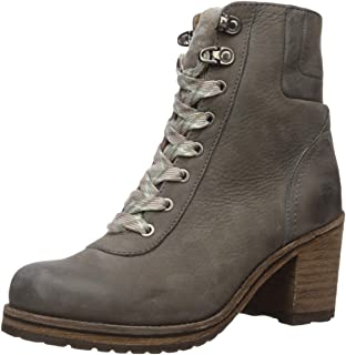 FRYE Women's Karen Hiker Snow Boot, Warm Grey, 8.5 M US
