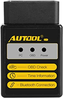 OBD2 OBDII OBD-II Automotive Scan Tool Car Diagnostic Scanner Code Reader Car Diagnostic Scan Tool Auto OBD Scanner for Android Devices(BT Version)
