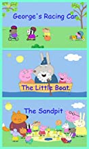 Storybook Collection: George's Racing Car, The Little Boat and The Sandpit - Great Picture Book For Kids