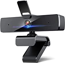 Webcam with Microphone, 2021 DEPSTECH 2K HD Streaming Camera for Computer with Privacy Cover, USB Webcam, Plug and Play PC...
