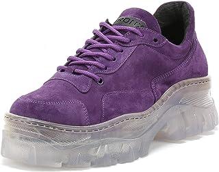 Bronx Womens Purple Jaxstar Chunky Trainers