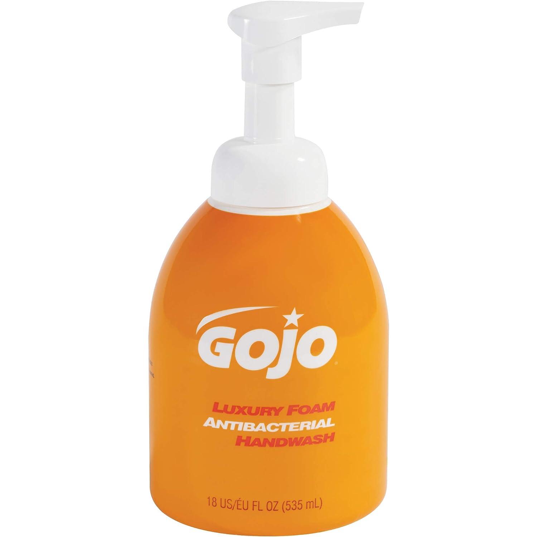 GOJO Foaming Antibacterial Hand Soap Case 18 4 oz Orange Max 41% San Jose Mall OFF