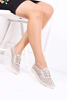 TARÇIN Hakiki Deri Günlük Kadın Ayakkabı TRC119-0022