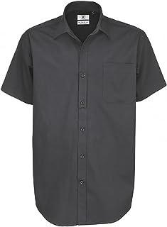 B&C Men's Sharp Short Sleeve Shirt Business
