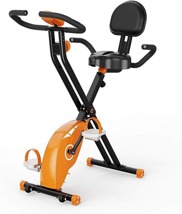 Ciclette per casa,f-bike , spin bike, cyclette pieghevole con display lcd 2wd B08THWX6LP