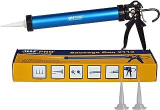 AWF Pro Sausage Caulk Gun, 20 oz Foil Pack / 10 oz Cartridge Convertible, 12:1 Thrust