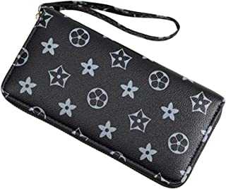 One piece of Women short zipper fashion handbags for travelling and parties, ladies purse with Multi-function pockets