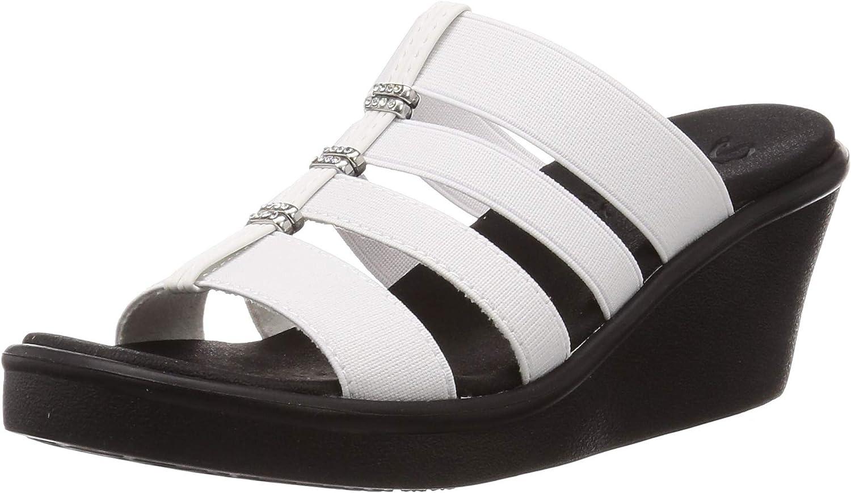 Skechers Cali Women's 40% OFF Cheap Sale Max 70% OFF Slide Wedge Sandal