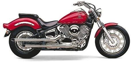 Cobra Boulevard 2 Inch Drag Pipe Slip-On Mufflers for Yamaha Cruisers - Yamaha XVS1100 V Star 1100 Custom 1999-2003