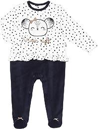 Petit Béguin - Pyjama bébé velours Magic Night - T