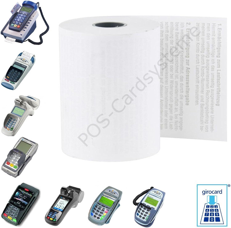 50 EC-Cash ThermGoldllen im Karton 57mm x x x 25m x 12mm für EC-Gerät Thales Hypercom Artema GSM   Mobile mit Lastschrifttext ELV B00GC4DXW0 | ein guter Ruf in der Welt  1f8117