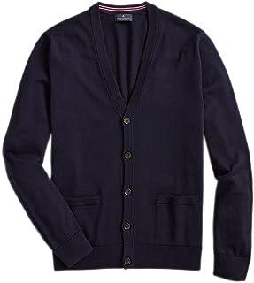 Men's Washable Extra Fine Merino Wool V-Neck Cardigan...
