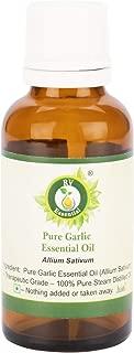 Essential Huile essentielle d ail pur 10ml  0 338oz  Allium Sativum  100  Pur naturelle Distillee vapeur  Pure Garlic Essential Oil