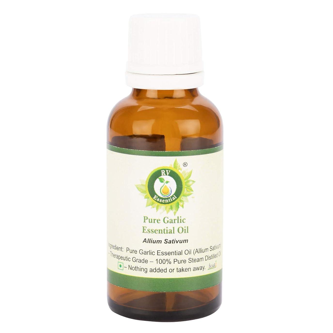 矩形インタラクション定期的にピュアニンニクエッセンシャルオイル100ml (3.38oz)- Allium Sativum (100%純粋&天然スチームDistilled) Pure Garlic Essential Oil