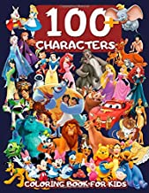 100+ CHARACTERS: Jumbo Coloring Book for Kids (high qualiy)