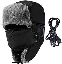 MEIZOKEN Winter Soft Bomber Hats Smart Bluetooth Earphone Cap Speaker Mic Headset Thicken Fur Ear Flap Warm Snow Hat
