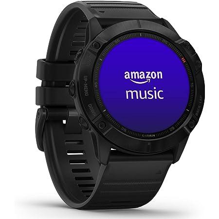 """Garmin Fenix 6 PRO - GPS Smartwatch Multisport 51mm, Display 1,4"""", HR e saturazione ossigeno al polso, Musica, Mappe e pagamento contactless Garmin Pay, Colore Ardesia/Nero"""