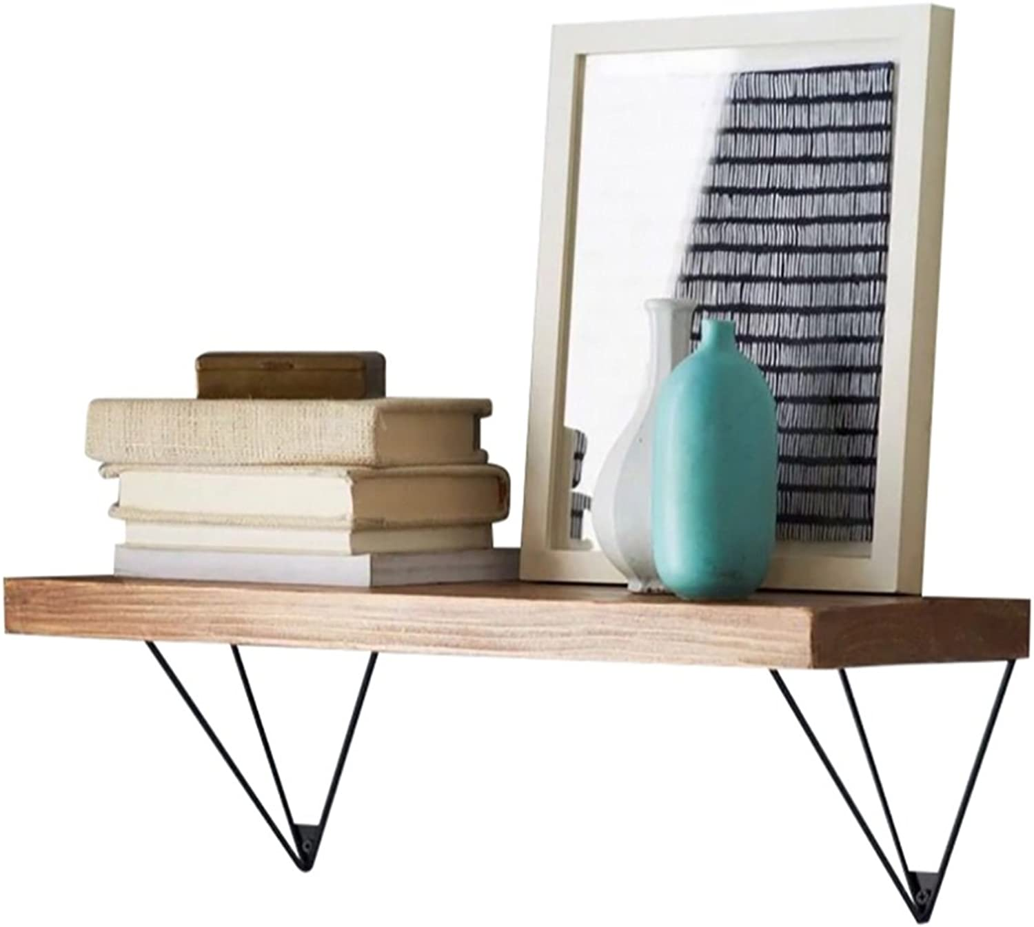 Decorative Accessories Single Layer Wall Mounted Shelves Solid Wood Shelf Bookshelf Wall Hanging Rack Wall Storage Board Living Room Kitchen Wine Rack Wall Decoration Floating Shelves