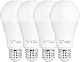 Wyze Bulb 800 Lumen A19 LED Smart Home Light Bulb, Adjustable white temperature and..