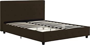 DHP Dakota Upholstered Faux Leather Platform Bed (Full Size)