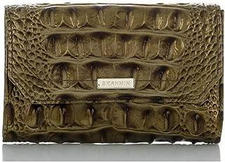 Helena Genuine Leather Wristlet (Pewter Melbourne)