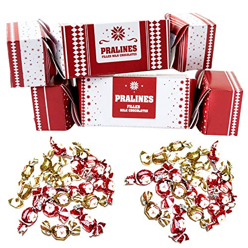 Becky's - Cioccolatini natalizi in 2 grandi confezioni, 200 g