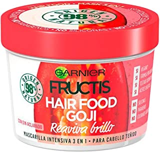Fructis Color Hair Food Goji Mascarilla Cabello Teñido 390 Ml