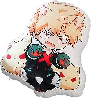 Mikucos Anime Boku No Hero My Hero Academia Bakugou Katsuki Plush Doll Toy Pillow Cushion 48CM