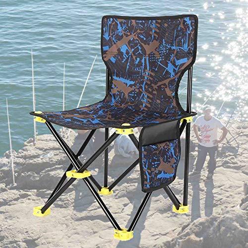 Phoetya Silla plegable portátil ligera y portátil plegable para acampar al aire libre, silla plegable para exteriores, silla de playa plegable con bolsa de almacenamiento para exteriores (rojo)