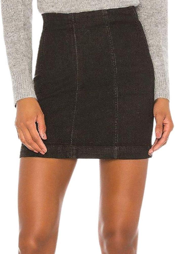 Free People Denim Femme Modern Skirt 2021 Ranking TOP19 autumn and winter new