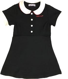 天使のドレス屋さん キッズ ファッション 半袖 ワンピース 子供服 ブラック ブルー ピンク 可愛い キャラット GXC4
