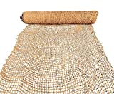 Sandbaggy Coir Mat | Erosion Control Product for Stopping Soil Erosion on Hillsides, Riverbanks & Oceanfront | Lasts 5X Longer Than Straw Blanket | Lasts 2-5 Yrs (Homeowner Size - 4 ft by 80 ft Roll)