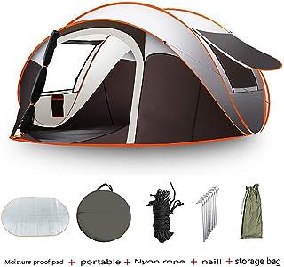 Tienda de campaña automática emergente para acampar Carpeta emergente para 5-8 personas Tiendas de playa de apertura rápida al aire libre prueba de agua Anti UV para fácil configuración(280*200*120cm)