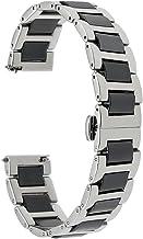 TRUMiRR 22mm Keramik Uhrenarmband Schnellspanner Armband kompatibel für Samsung Gear S3 Frontier Classic, Samsung Galaxy Watch 46mm, Huawei Watch GT