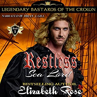 Restless Sea Lord audiobook cover art