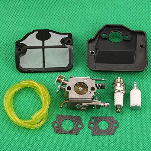 Tratamientos de carburadores para filtro de aire de carburador Huq para Husqvarna 136, 141, 137, 142, 36, 41, 136Le 137E 142E piezas