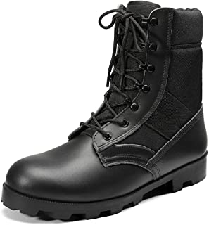 Mens Military Tactical Army Boots for Men Lightweight...