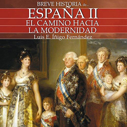 Breve historia de España II audiobook cover art