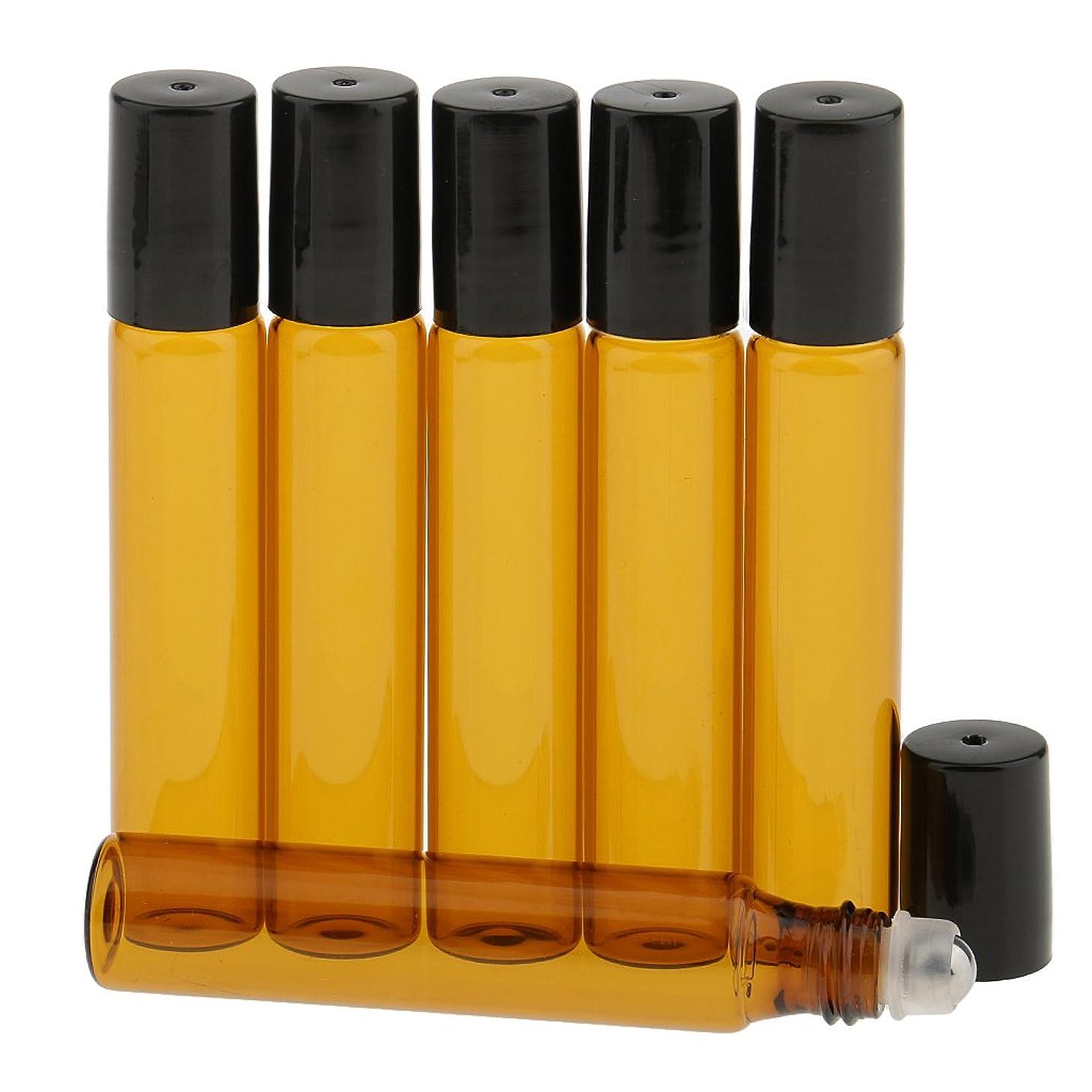 操作バン定規T TOOYFUL 香水分装 化粧ボトル ガラスロール 詰め替え可能 旅行用 光避けデザイン 6本入り